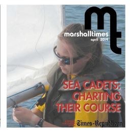 sea cadets: charting their course