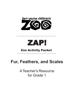 Fur, Feathers, and Scales - Fort Wayne Children`s Zoo