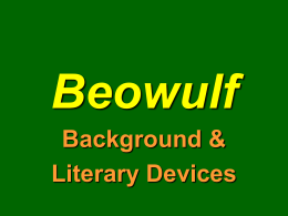 Beowulf - CHS AP English