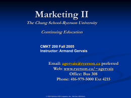 Lecture 3 Global Marketing Con`t