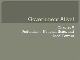 Government Alive!