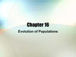 Chapter 16 - variation Notes