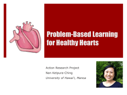 Problem-Based Learning for Healthy Hearts