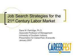 Job Search Strategies for the 21st Century