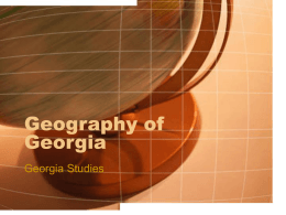 GEO of GA - tbogastudies