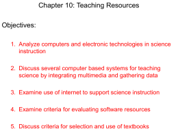 Chapter 10 Computers and Technology