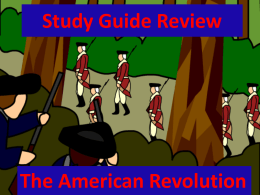Study Guide Review - Thomas C. Cario Middle School