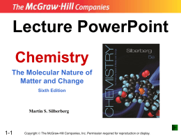 PowerPoint Presentation - Welcome to CHEMISTRY !!!
