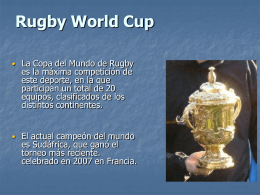 Rugby Wold Cup