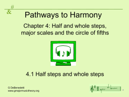 Pathways to Harmony - G Major Music Theory