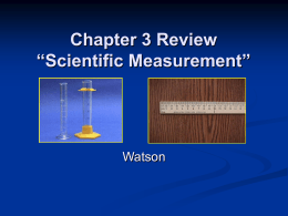 Chapter 3 Review - Mr-Watson-General-Chemistry-B