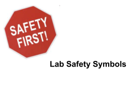 Lab Safety Symbols