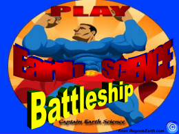 Battleship - Regents Earth Science