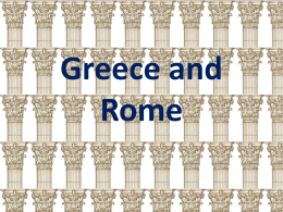 Greece and Rome Review