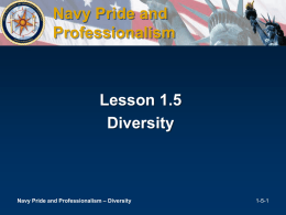 Pride, Partnership and Professionalism