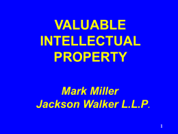 Intellectual Property Malpractice ? for ? Attorneys