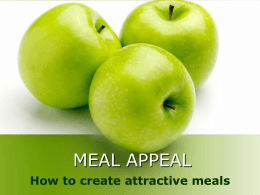 Meal Appeal