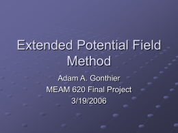Extended Potential Field Method