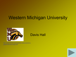 WMU - Western Michigan University