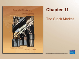 Stock Market Chapter 11