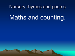 Nursery rhymes and poems