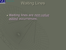 Waiting Lines