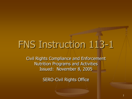 FNS Instruction 113-1 - Kentucky Department of Agriculture