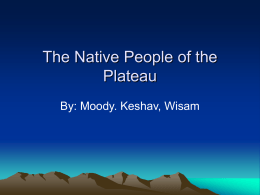 People of the Plateau by Moody, Keshav and Wisam