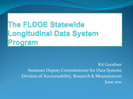 SLDS - Florida Association of Management Information Systems