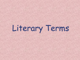 Literary_Terms_PowerPoint