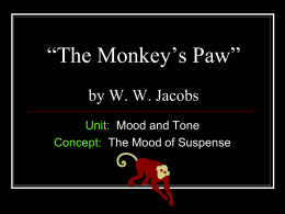 """The Monkey`s Paw"" by WW Jacobs"
