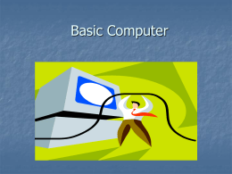 Learning Basic Computer Skills