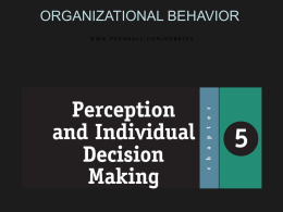 Organizational Behavior 10e