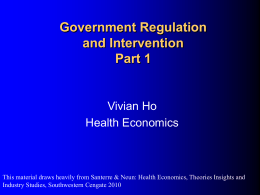 Tools for Health Policy