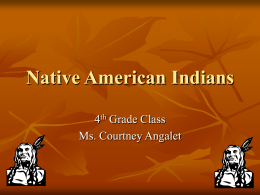 Native American Indians - Marshall University Personal Web Pages