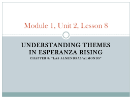 Module 1, Unit 2, Lesson 8 - tst-ela