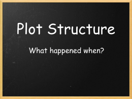 Plot Structure Notes