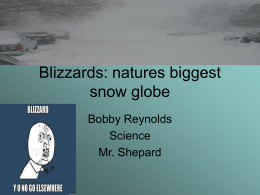Blizzards - MrShepardsWiki