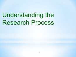 Step 4: Theoretical Framework Step 5: Hypothesis Development