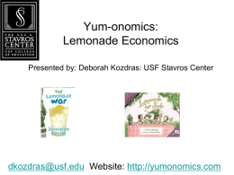 economic - Yumonomics