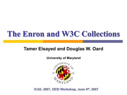 elsayed - University of Maryland Institute for Advanced Computer