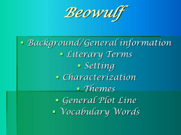 Review for Beowulf Test