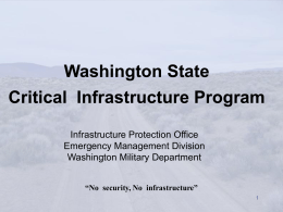 Critical Infrastructure IPR