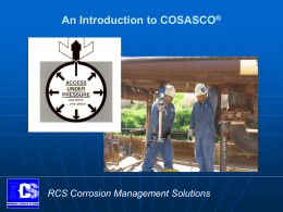 Products - Mechanical - Rohrback Cosasco Systems