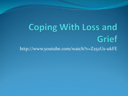 Coping with Loss and Grief (2)