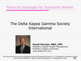Financial Strategies for Successful Women