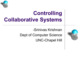 Access Control and Synchronization in Collaborative Systems