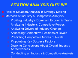 Situation Analysis PowerPoint