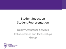 PowerPoint Presentation - Leeds Beckett University
