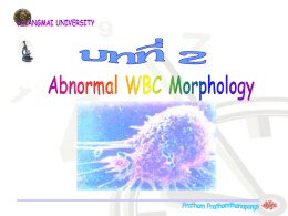 Abnormal White Cell
